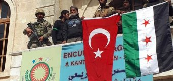 Turkish and Syrian Govt. Forces Capture Kurdish Town of Afrin