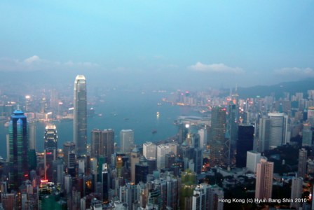 Hong Kong seen from the Victoria Peak