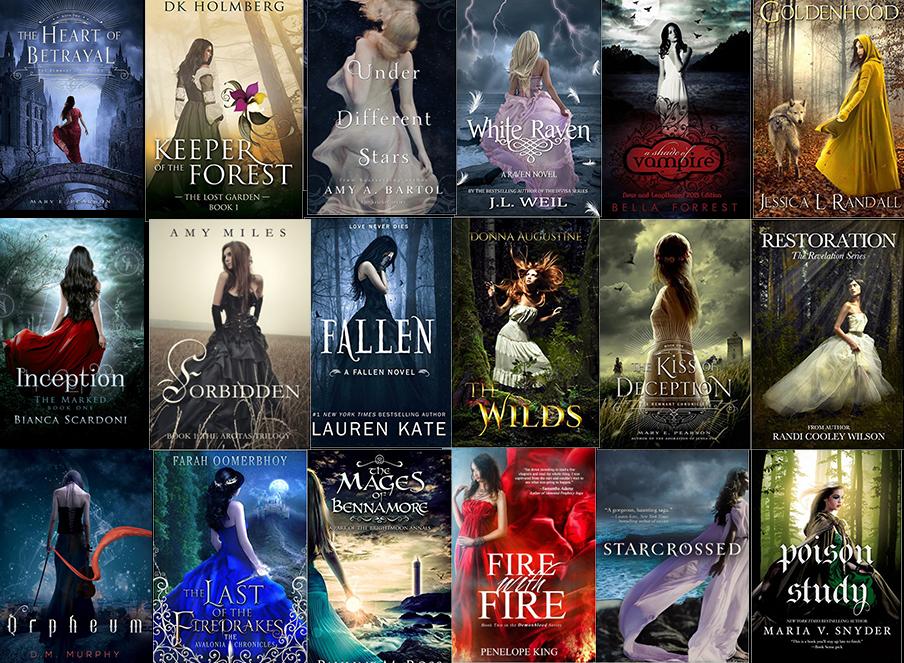 Fantasy Book Cover Cliches : Girls in dresses ya fantasy book cover cliches we love