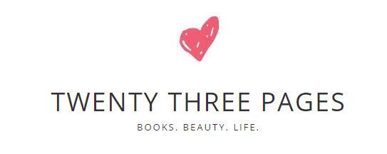 Twenty Three Pages book blog