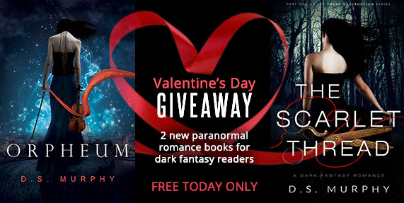 Valentine's Paranormal/Dark Fantasy Books