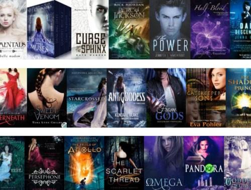 YA books based on greek myth
