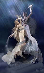 La Regina delle Fate caccia Serana