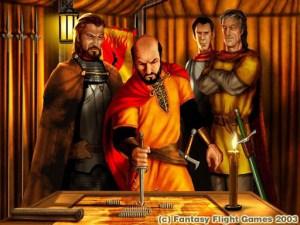 Stannis Baratheon a Concilio