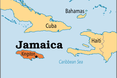 jamaica kingston countries surrounding via operationworld org