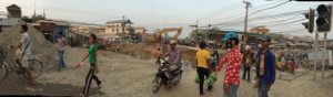 Passengers' Indigent Safety at Road Construction Sites in Phnom Penh
