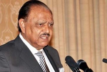 خود کش حملے فساد فی الارض کے زمرے میں آتے ہیں،علماءکا بھی یہی متفقہ فتوی ہے :صدر مملکت پاکستان