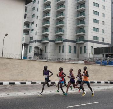 Thousands Turn Up for Lagos Marathon Hub