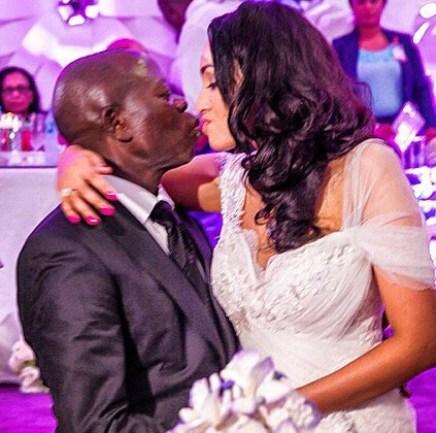 Oshiomole's Wife, Lara  Reacts to Divorce Rumours