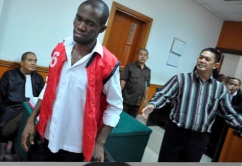 Miracle: Nigerian Charged with Drug Trafficking in Indonesia, Escapes Death Sentence