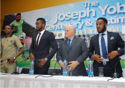 Ex-Man United Manager, Okocha, Eto'o, Kanu, Others  Honour  Yobo in Port Harcourt