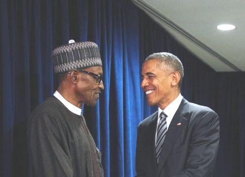 Buhari and Obama
