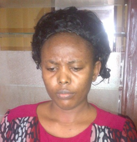 Nigerian Lady Hair Stylist Arrested with Cocaine Hidden in Her Brassiere (PHOTOS)