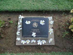 Het graf van Pieter Romkes