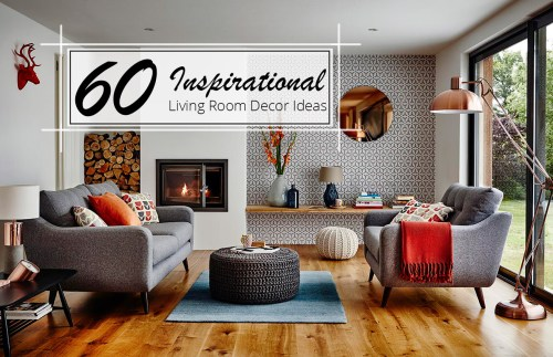 Medium Of Decorating Ideas For The Living Room