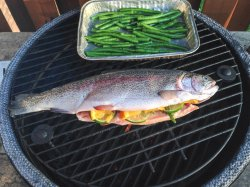 Reputable Foil Charcoal Grilled Trout Recipes Grilled Trout Big Green Egg Egghead Forum Ultimate Cooking Grilled Whole Trout Recipes