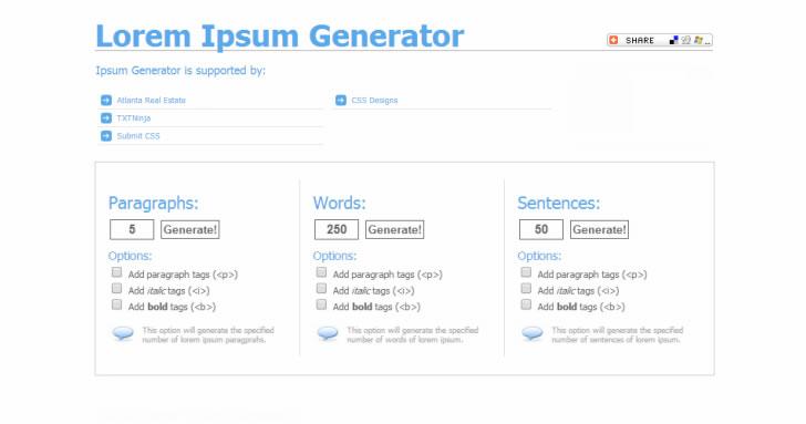 user-experience-ux-tools-lorem-ipsum-generator