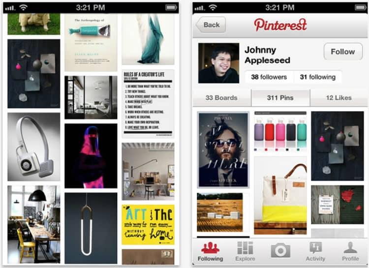 evolution-mobile-app-design-pinterest-2012
