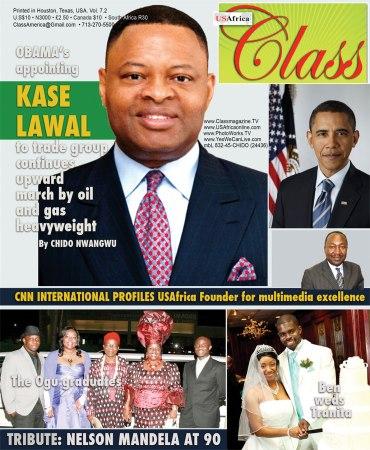 CLASSmagazine 7pt2, Kase Lawal, President Barack Obama, Chido Nwangwu, USAfrica,