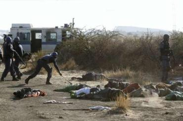 Post-Apartheid CRISIS: South Africa tense after 34 killed at clash between police and striking mineworkers