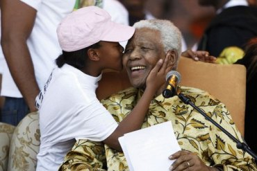94-year-old MANDELA undergoes surgery to remove gallstones; recovering