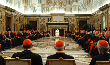 Media saturation, coverage of Pope's election process reflect overkill