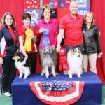 Round 1 - Medium Dog Jumping Winners 1st - Geri Hernandez & Switch 2nd - John Nys & Rush 3rd - Maureen Waldron & Mickle