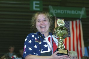 First Individual Gold Medal 2002