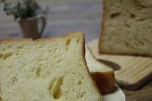 デニッシュ食パン断面