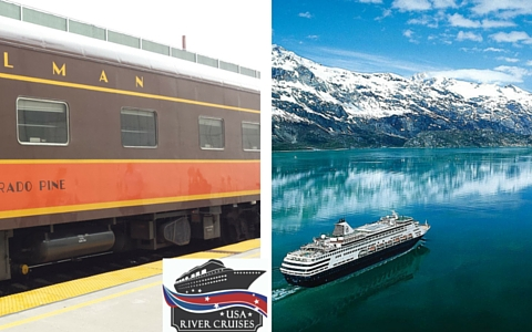 Travel from Yosemite to Denali National Parks by train and ship