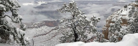 Grand Canyon in Winter. Ring in the New Year at the Grand Canyon.