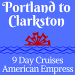 American Empress Eastbound, Portland to Clarkston