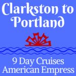 American Empress Westbound, Clarkston to Portland