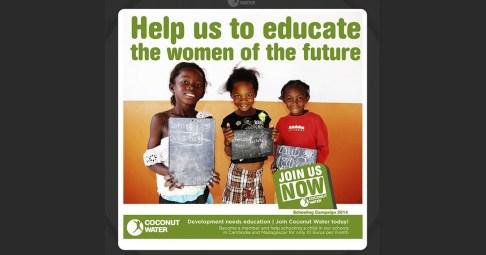 Campaña escolarización 2014
