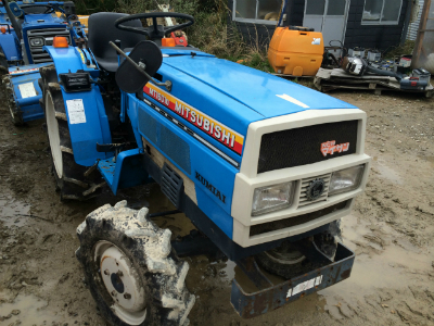 MITSUBISHI/MT1601D used mini tractor |K.H.S japan