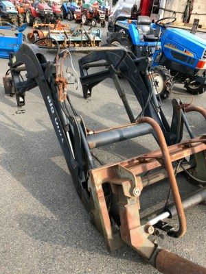 LOADER BIGUNIT used compact tractor attachment |KHS japan