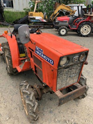 HINOMOTO C144D 00401 used compact tractor |KHS japan