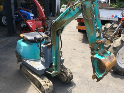 KOMATSU PC02 15252 used BACKHOE |KHS japan
