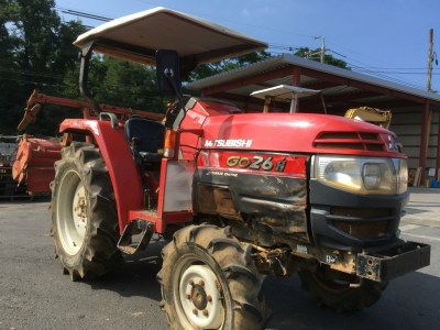 MITSUBISHI GO26D 99018 used compact tractor |KHS japan