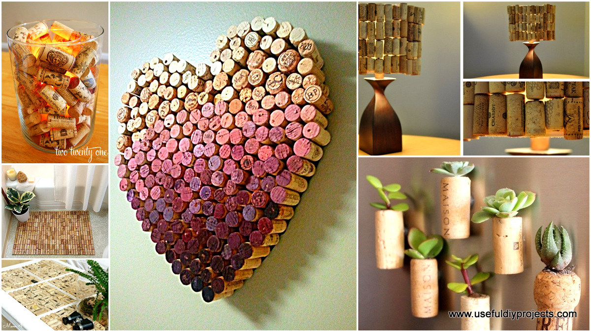 29 smart and ingenious wine cork diy crafts to do right now for Wine cork diy ideas