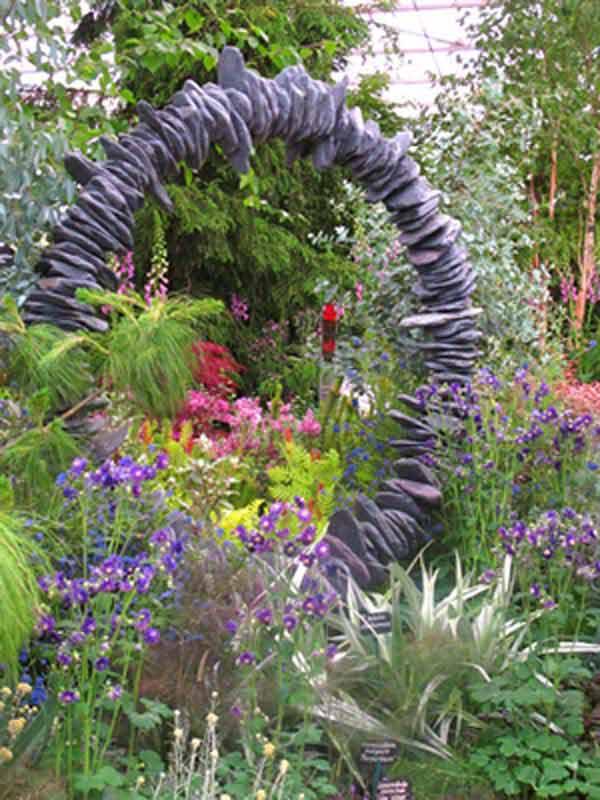 Breathtaking Simple Rock Garden Ideas
