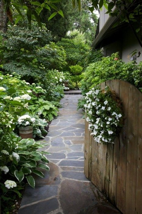 shade garden path ideas 40 +Beauteous and Alluring Garden Paths and Walkways For