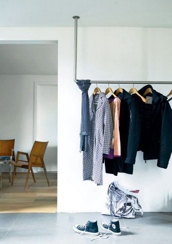 Diy clothing storage solutions for small spaces - Clothing storage for small spaces image ...
