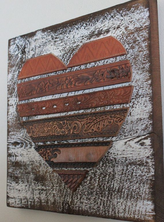 Beautiful diy wall art pack for creative beginners for Wooden heart wall decor