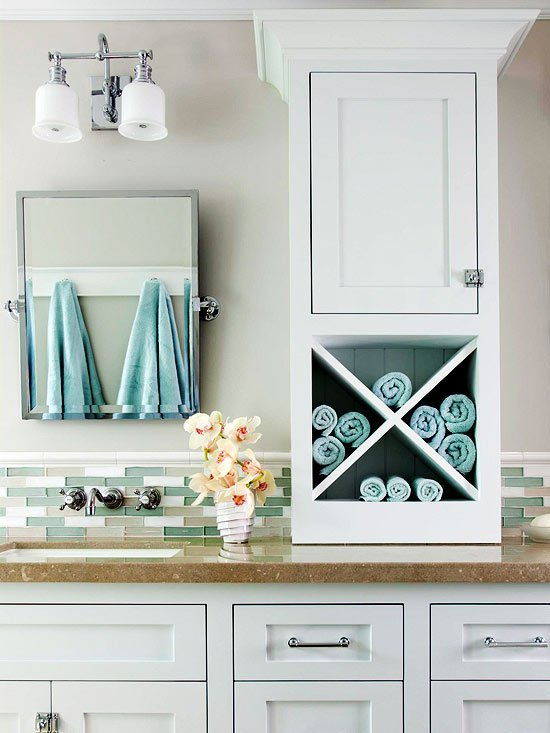 Diy bathroom storage ideas for Unusual storage ideas