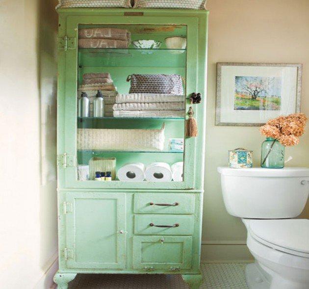 Wonderful 30 Brilliant DIY Bathroom Storage Ideas