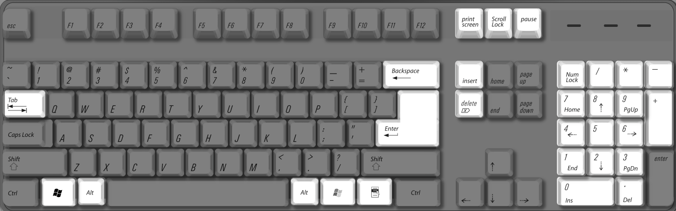 Boot Camp keyboard mappings for Windows - above and beyond