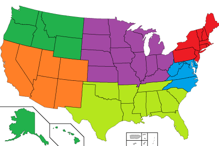 Blank Map Of United States Midwest Region Midwest Region Mr Ls