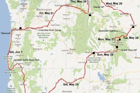 Map Of The Northwest United States - Us northwest map