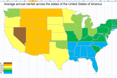 how to create a thematic or choropleth map in excel 2007
